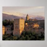 España, Granada, Andalucía Alhambra, Póster