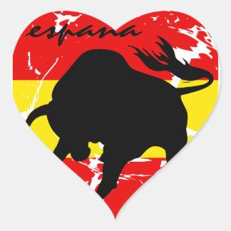 Espana Heart Sticker