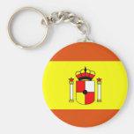 España Llavero Redondo Tipo Pin