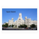 España, Madrid ayuntamiento Plaza de Cibeles Postal