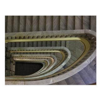 España, Madrid, Circulo de Bellas Artes, staircas Tarjeta Postal