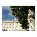 España, Madrid. Palacio real Postal