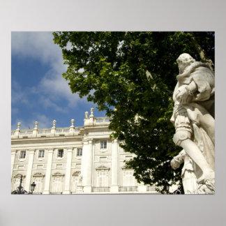 España, Madrid. Palacio real Póster