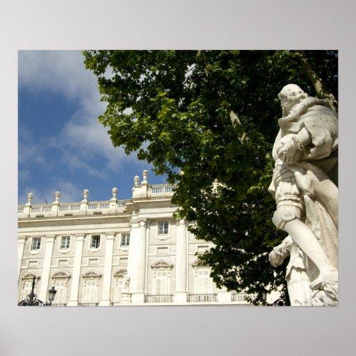 España, Madrid. Palacio real Posters