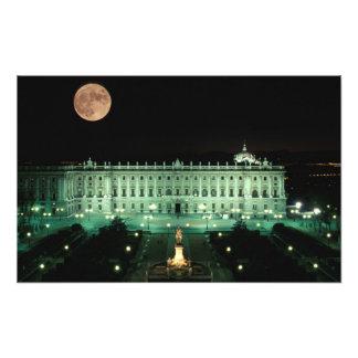 España, Madrid, Royal Palace y plaza de Fotos