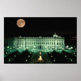 España Madrid Royal Palace y plaza de Posters