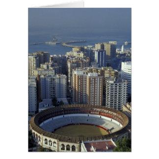 España, Málaga, opinión de Andalucía Plaza de Toro Tarjeta De Felicitación