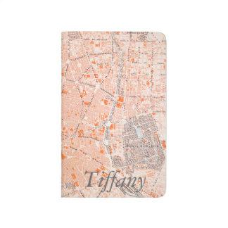 España: Mapa de Madrid, C1920 Cuaderno Grapado
