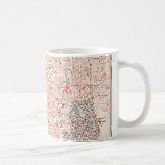 España: Mapa de Madrid, C1920 Taza De Café