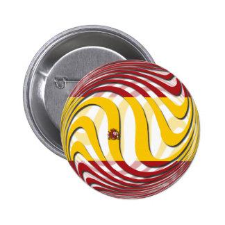 España Pin Redondo 5 Cm