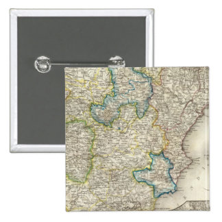 España, Portugal 5 Pin Cuadrado
