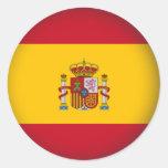 España redonda etiqueta