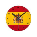 España Reloj Redondo Mediano