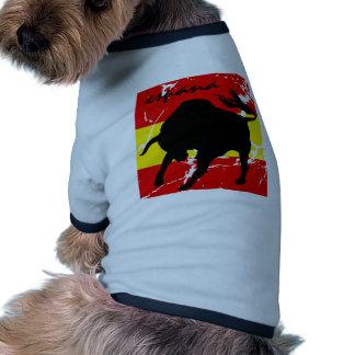 Espana Camiseta De Perro