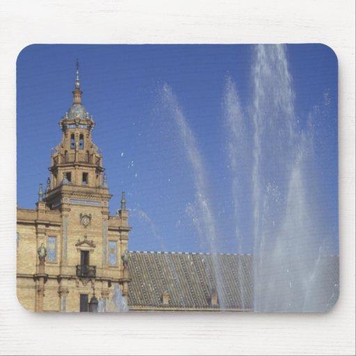 España, Sevilla, fuente de Andalucía y adornado Mouse Pad
