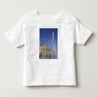 España, Sevilla, fuente de Andalucía y adornado Tee Shirts