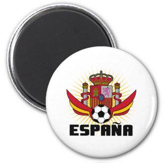 España Soccer 2 Inch Round Magnet