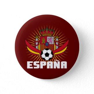 España Soccer button