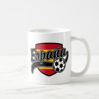 Espana Soccer Classic White Coffee Mug
