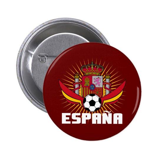 España Soccer Pinback Button