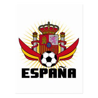 España Soccer Postcard