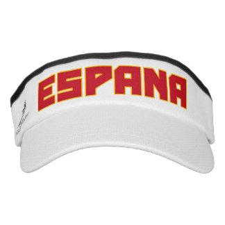 Espana ( Spain ) Bold Text Visor Hat