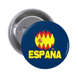 Espana Spain La Furia Roja Futbol Pinback Button