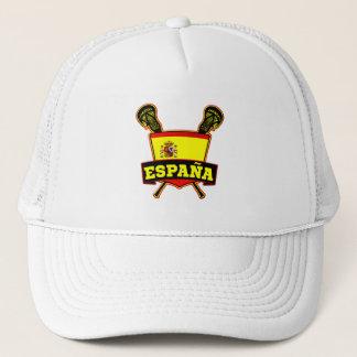 España Spain Lacrosse Trucker Hat
