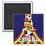 Espana Spain Soccer Fútbol 2 Inch Square Magnet