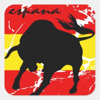 Espana Square Sticker