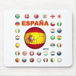 Espana t-shirt d7 mouse pad
