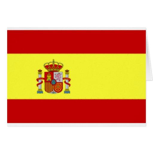 España Tarjeta De Felicitación