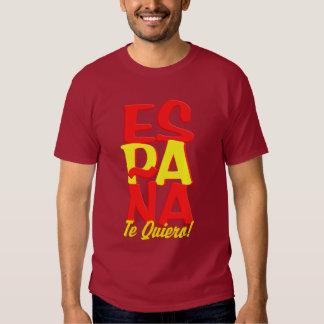 España Te Quiero shirt - choose style & color