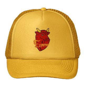Espana Toro Spanish Bull for Spain lovers Mesh Hat