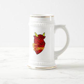 Espana Toro Spanish Bull for Spain lovers Mugs