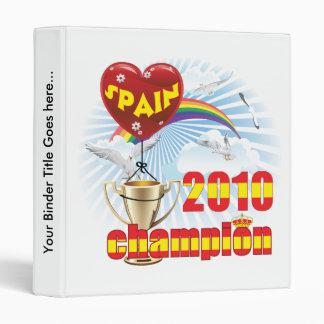 """España trofeo de 2010 campeones del mundial carpeta 1"""""""