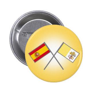 España-Vaticano-Banderas 1 Boton