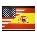 España y Estados Unidos Post Cards