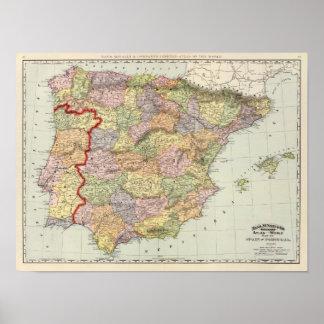 España y Portugal 14 Poster