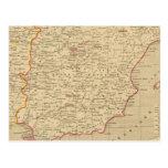 España y Portugal 1640 un 1840 Tarjetas Postales