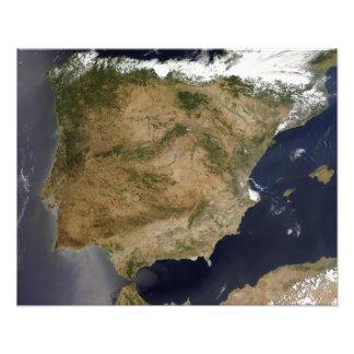 España y Portugal 2 Impresión Fotográfica