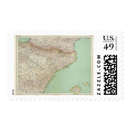 España y Portugal 2 Timbre Postal