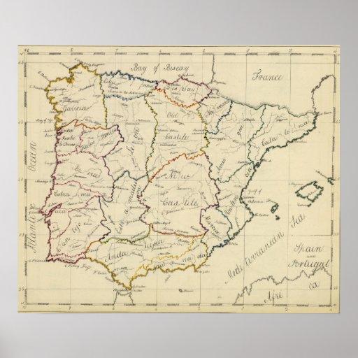 España y Portugal 5 Posters