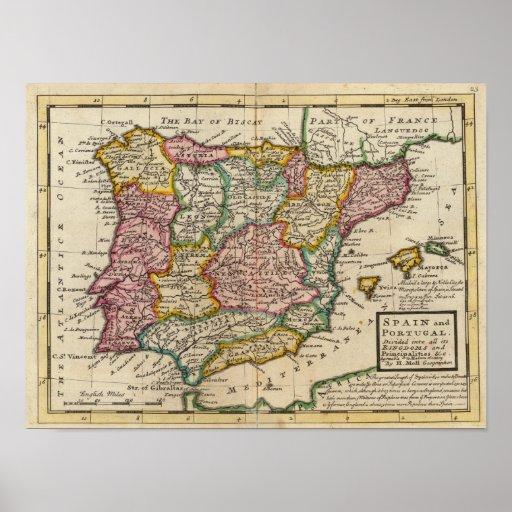 España y Portugal 6 Poster