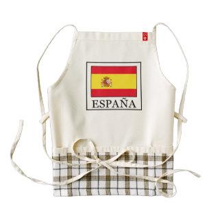 España Zazzle HEART Apron