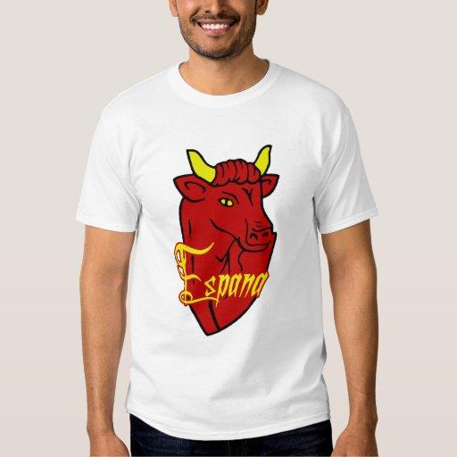 Español Bull de Espana Toro para los amantes de Playeras