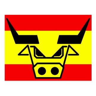 Español Bull Tarjetas Postales