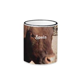 Español Bull Taza A Dos Colores