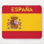 Español, cojín de ratón de España Alfombrillas De Raton