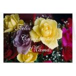 Español: El cumpleaños de la madre de Tarjeta De Felicitación